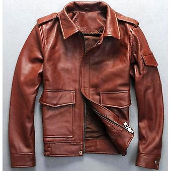 Bron men's g1 cowhide leather jacket