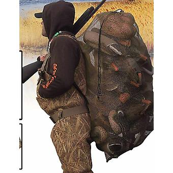 Duck Goose Turkey Decoy Backpack With Bird Hunting Net Mesh