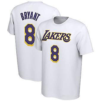 Los Angeles Lakers No.8 Kobe Bryant Korte T-shirt Sports Tops 3DX046