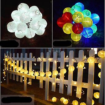 Solar Lantern Fairy Lights For Garden And Outdoor Decoration