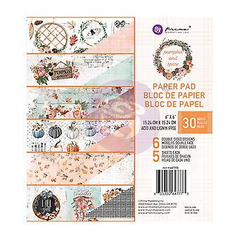 Prima Marketing Pumpkin & Spice 6x6 Inch Paper Pad