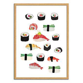 Art-Poster - Sushi - Amaya Brydon