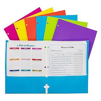 2-Pocket Laminated Paper Portfolios