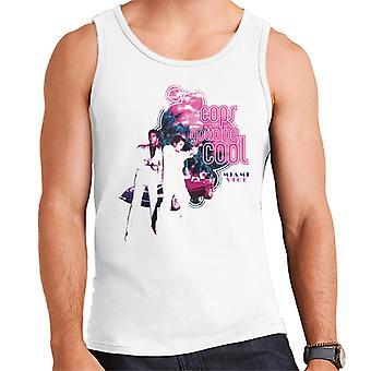 Miami Vice Cops Gotta Be Cool Men's Vest