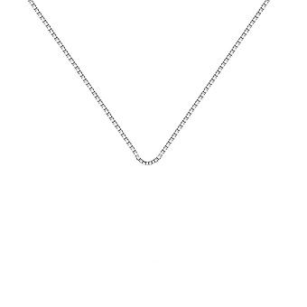 "Hot Diamonds 16-18"" Sterling Silver Box Chain CH031"