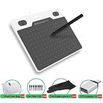 10moons 6 Tuuman Ultralight Graafinen Tabletti 8192 Tasot Digitaalinen Piirustus Tabletti