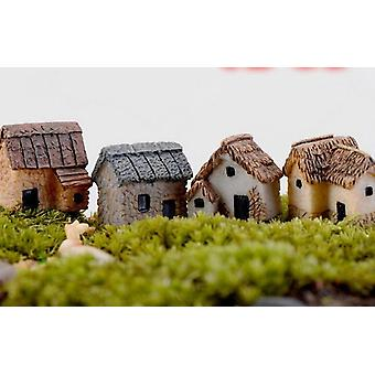 House Miniature Figurine Fairy & Home Decoration Cartoon/animal Building Statue