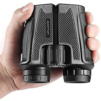 12X25 Compact Binoculars for Adults and Kids Folding Lightweight Binocular