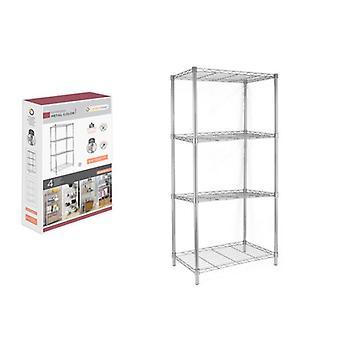 Shelves Confortime Metal 4 Shelves (56 x 35 x 120 cm)