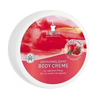 Pomegranate body cream 250 ml of cream