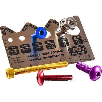 Pro Bolt Pro-Gauge Bolt Measuring Tool Essential Item for Tool Box ( Pack) PROGAUGE