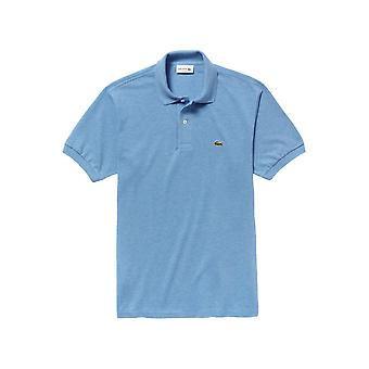 Lacoste Hombres's Marl Knit L.12.12 Polo Camiseta Classic Fit