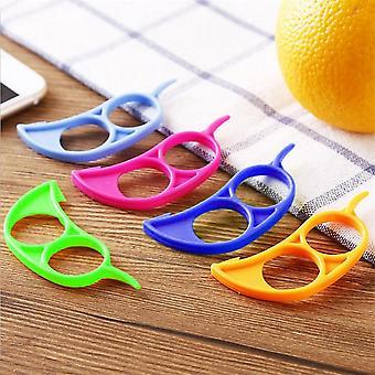 Kreativ appelsinpeeler, Sitron Slicer Frukt Stripper