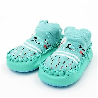 Baby Floor Socks Anti-slip Soft Bottom Shoes, Rubber Soles Kids Boots Socks