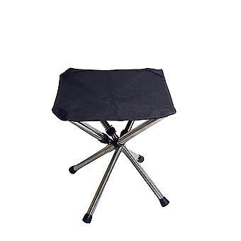 Outdoor portable triangle folding stool