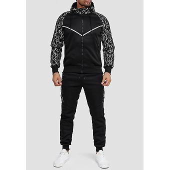 Mens Trainingspak Fitness Jogging Pak Streetwear Set Sport Outfit Jas & Broek
