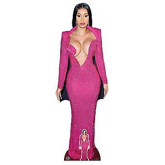Cardi Celebrity Singer Lifesize Cardboard Cutout / Standee