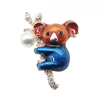 Cute Brooch Pin Koala Corsage Animal Ladies Brooch