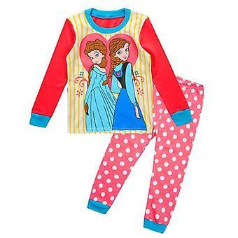 Meerjungfrau Schlafen Schönheit Kinder Pyjamas Sets, Mickey Baby und Kleidung, Cartoon