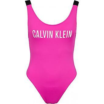קלווין קליין סקופ בחזרה לוגו בגד ים