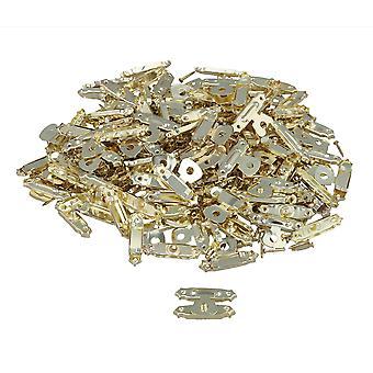 40pcs 27x16mm Golden Antique Mini Wood Box Catch Decorative Latch Hook Hardware