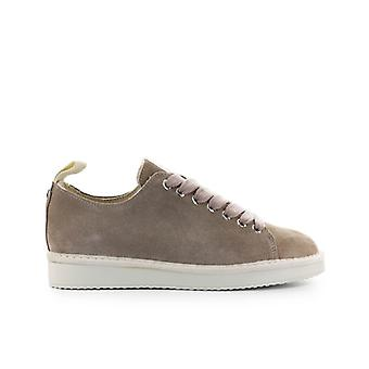 Pànchic Taupe Powder Pink Suede Sneaker
