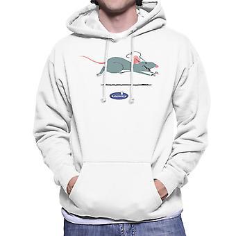 Pixar Ratatouille Remy Running Men's Hooded Sweatshirt