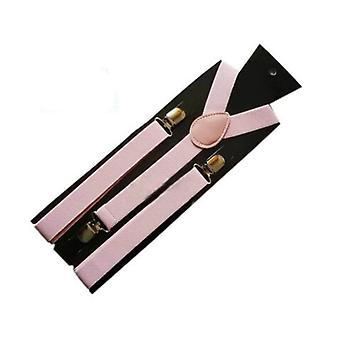 كاندي الملونة تمتد البوليستر قابل للتعديل الكتف حزام كليب (الوردي)
