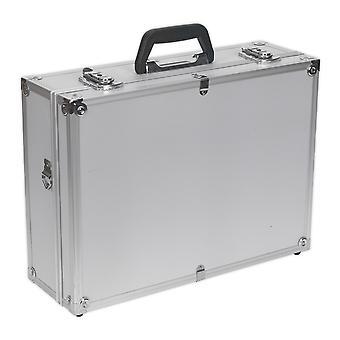 Sealey Ap603 ferramenta caso alumínio quadrado bordas