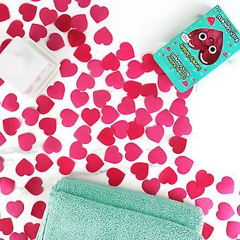 Lovely jubbly - heart bath confetti