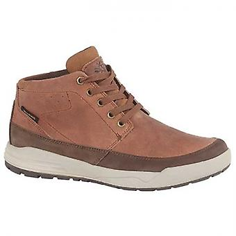 Woodland Redmond Mens Leather Lace Up Boots Brown