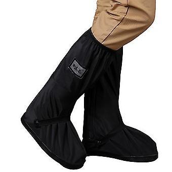 Impermeable reutilizable motocicleta / ciclismo overshoes cubiertas de zapatos de lluvia con