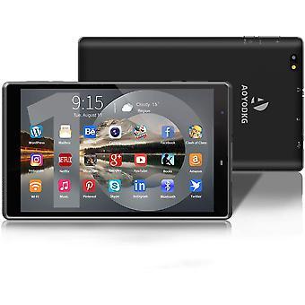 FengChun Tablet 8 Zoll Android 10 WiFi Tablet PC, 3 GB RAM 32 GB ROM/128 GB Erweiterbar, Quad-Core,