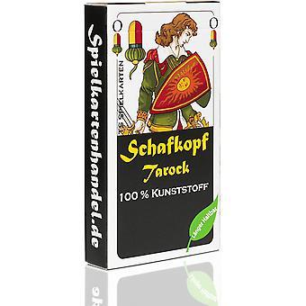 FengChun Schafkopf Karten aus 100% Kunststoff (Plastik +) bayrisch, wasserfest