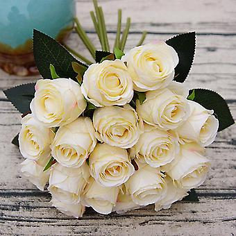 Artificial Flowers Wedding Bouquet, Silk For Home Party Decoration, Fake Flower
