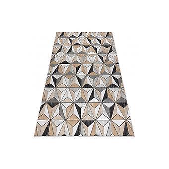 سجادة سيزال كوبر موزاييك، مثلثات 22222 ecru / أسود