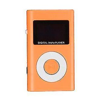 لميني USB MP3 مشغل الوسائط الموسيقية LCD Screen دعم 32GB مايكرو SD TF فتحة بطاقة WS42140