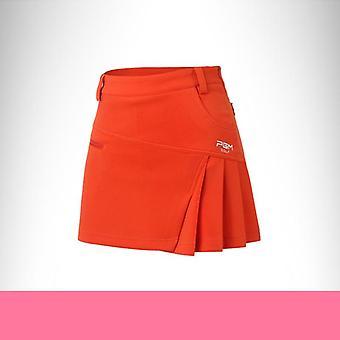 Jupe de golf pour femmes, jupe sport douce en coton d'été