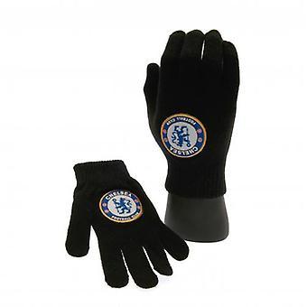 Chelsea FC Knitted Junior Gloves