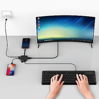 Usb Type C -sovitin älypuhelimen kannettavalle tabletille
