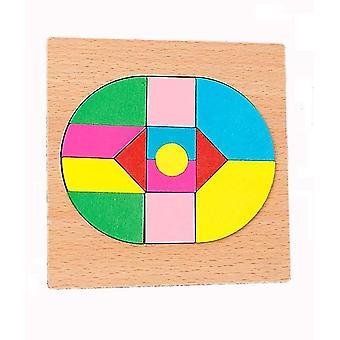 Vzdělávací hračka dvorní mozaika puzzle hra dt7469