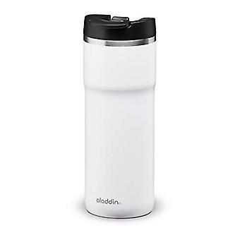 Aladdin Java Thermavac Leak-Lock Stainless Steel Mug 0.47L Snowflake White