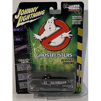 Ghostbusters 1959 Pre Ecto Cadillac Ambulanssi Musta Johnny Lightning JLSS005