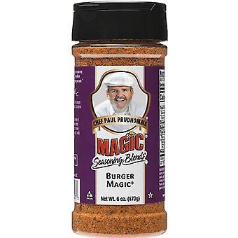 Chef Paul Prudhomme's Magic Seasoning Blends Burger Magic