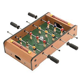 Tafelblad tafelvoetbal tafel- draagbare mini tafel voetbal spel set
