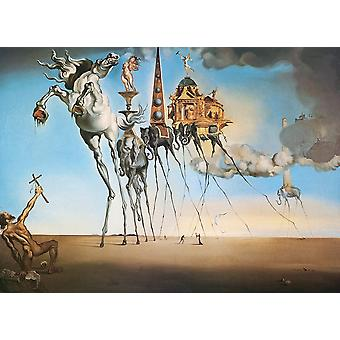 Eurographics The Temptation of St. Anthony, Dali Jigsaw Puzzle (1000 Pieces)