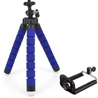 Phone Tripod, Portable And Adjustable Tripod Stand,  Camera Tripod(Blue)