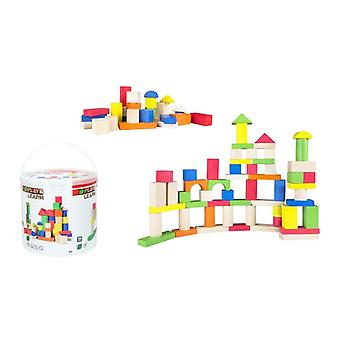 Building Blocks Game 100 pcs (1+ year)