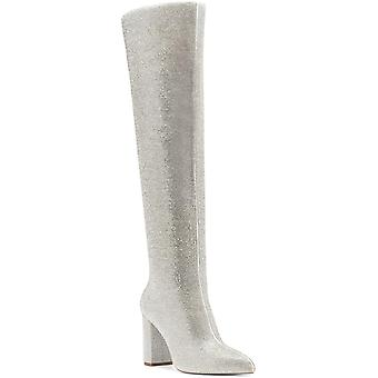 INC International Concepts Womens Phebe Over the Knee Rhinestone Boots,