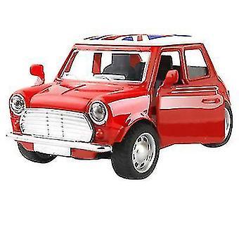 ミニ子供の合金車、漫画車モデルおもちゃ車(レッド)